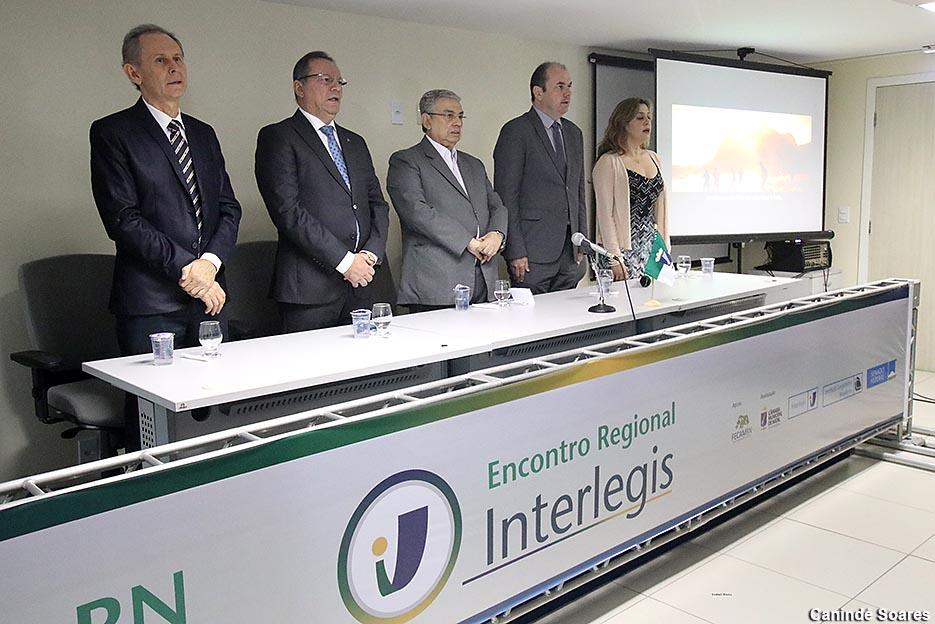Encontro Regional do Interlegis capacita vereadores e servidores do legislativo potiguar