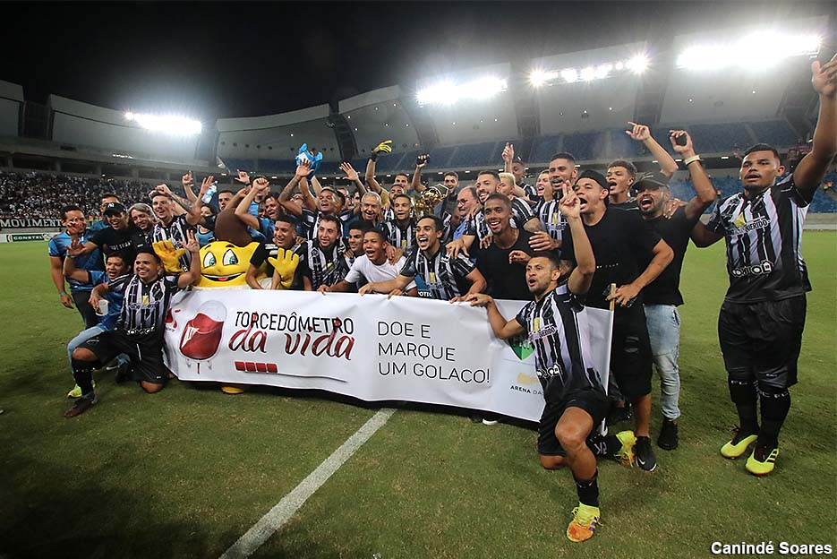 ABC vence o América e é campeão do primeiro turno do Campeonato Potiguar
