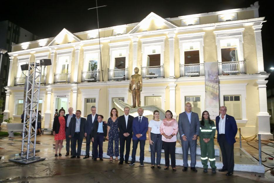 Instituto Neoenergia e Governo do RN entregam nova iluminação do Memorial Câmara Cascudo