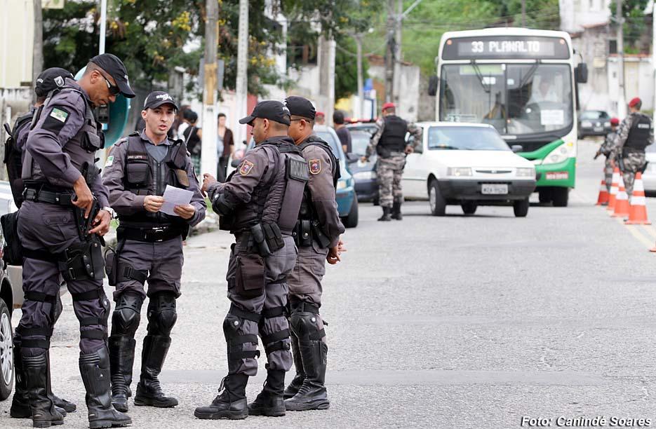 Polícias Civil e Militar fiscalizam quem não cumpre regras de isolamento social