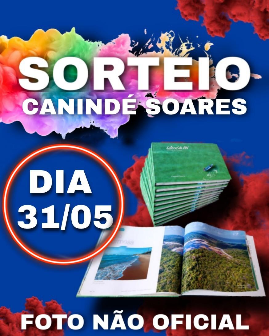 Neste domingo dia 31/05, às 19 horas tem live com Ridalvo Felipe e Canindé Soares