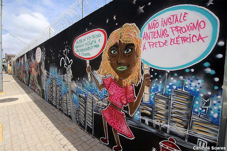Neoenergia aposta em grafitagem de subestações para incentivar segurança em comunidades