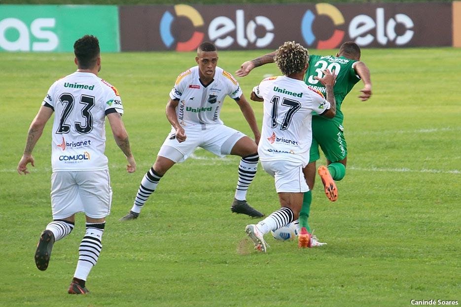 ABC vence o Chapecoense por 3 a 0 no Frasqueirão