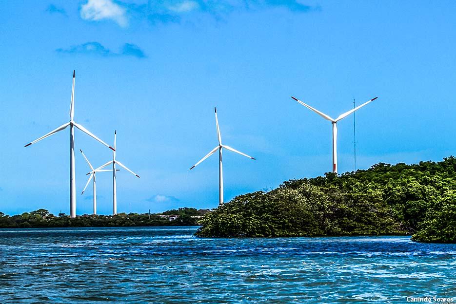 Energia eólica no municipio de Guamaré.